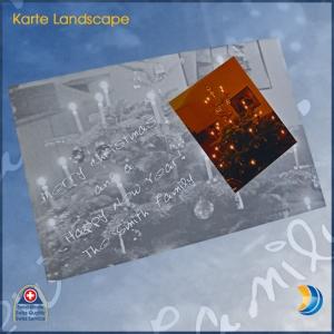 Fotokarte Landscape gross