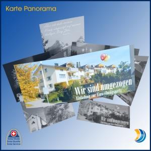 Fotokarte Panorama