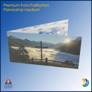 Foto-Faltkarte Panorama medium