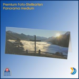 Foto-Stellkarte Panorama medium