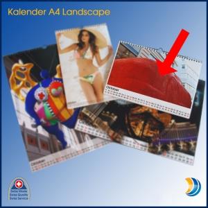 Kalender A4 Landscape